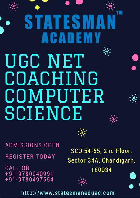 ugc net computer science coaching in chandigarh ugc net