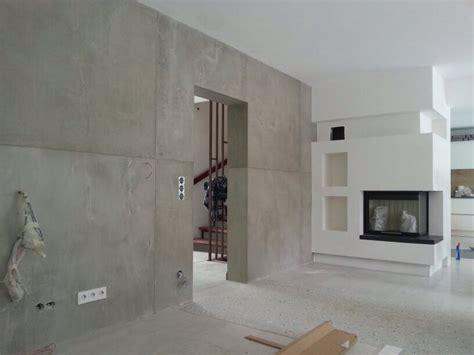 sichtbetonplatten wand beton cire oberfl 228 chen in beton look november 2013