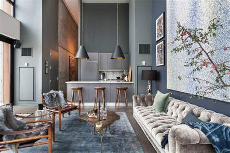 chic home design llc brooklyn industrial spacious but with trendy glamour decoholic