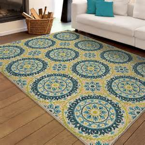 Large Indoor Outdoor Rugs Orian Rugs Indoor Outdoor Medallion Hamilton Multi Area Large Rug 2356 8x11 Orian Rugs