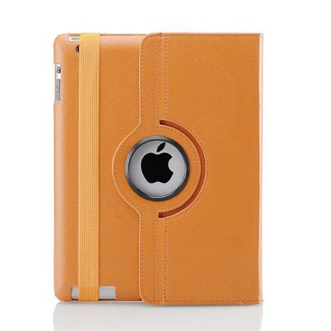2 3 4 360 Rotating Leather Smart 2015 360 rotating pu leather protective for apple