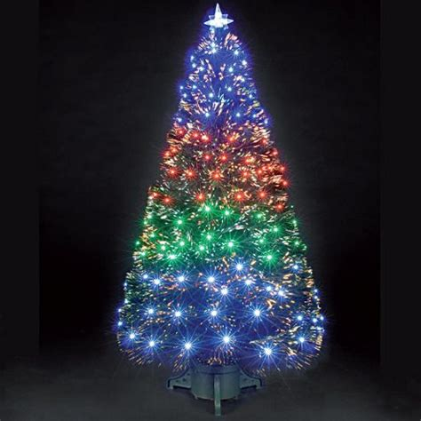 buy 6ft fantasia green fibre optic christmas tree from our