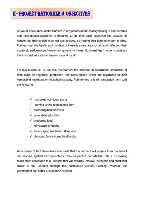 Support Letter For Housing Sa Sle Deped Feeding Program Narrative Report