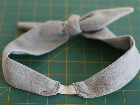 headband styler tutorial diy retro headband sewing projects burdastyle com