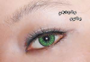 green colored contact lenses green color contact lens pair color contact lens