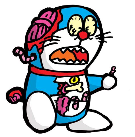 Doraemon Zombie Wallpaper   doraemon zombie by supergato7 on deviantart