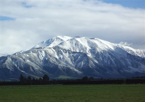 snowing images snowing hills new zealand hd wallpaper and