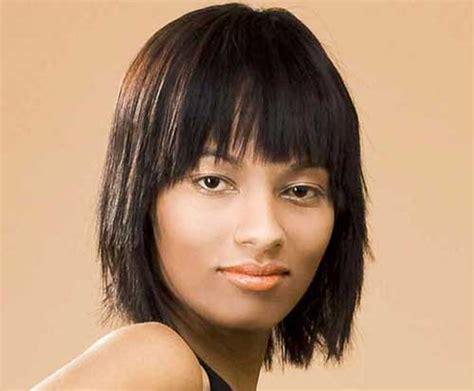 choppy bob with bangs for black women choppy bob hairstyles for thick hair bob hairstyles 2017