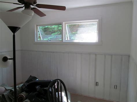 wood paneling makeover lovely beasts guest room makeover with painted wood paneling