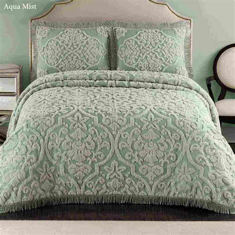 bed spread vintage chenille bedspreads ideasdecor ideas