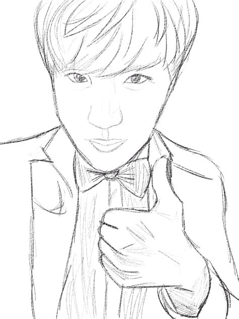 Jhope Drawing Easy by Bts Coloring Kpop Coloring Pages Coloring Pages