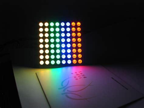 Led Matrix 60mm square 8x8 rgb led matrix rgb led8x8 163 13 99 sk pang electronics arduino sparkfun