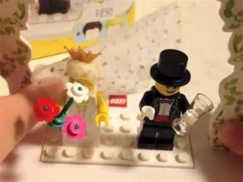 Lego Wedding Set 853340 lego review 853340 minifigure wedding favor set with subtitles cc
