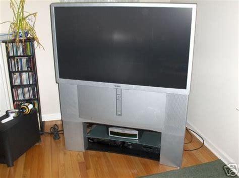 sony widescreen  kp wt rear projection hdtv