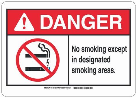 bar equipment no smoking signs adhesive no smoking brady polyester adhesive no smoking sign no smoking