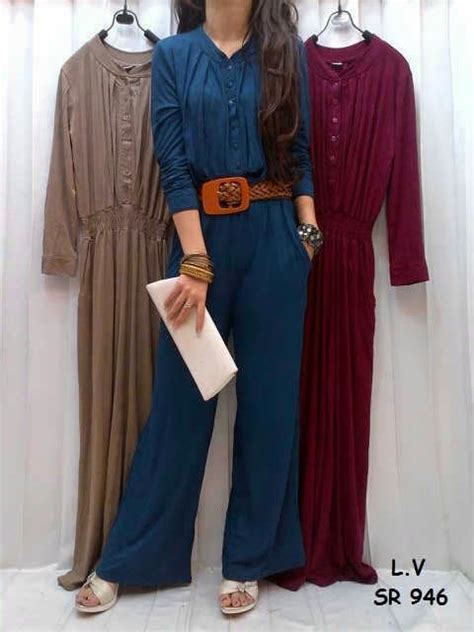 New Makuta Atasan Wanita Baju Muslimah Gamis Maxi Dress Maxi Dress Muslim Murah Warna Newhairstylesformen2014