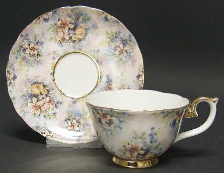 bradford editions lena liu s glorious chintz cup