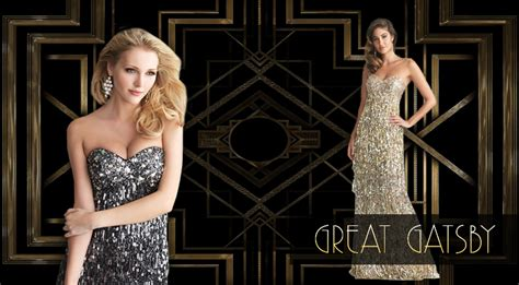the grat gabsy theme prom for guys great gatsby themed prom dresses dressprom net