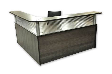 Reception Desk Plexi Front Office Furniture Podany S Office Furniture Reception Desk