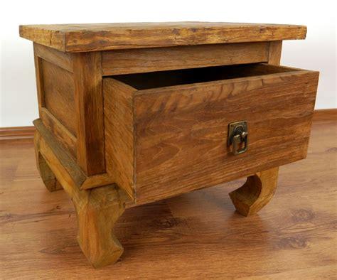 Handmade Reclaimed Furniture - reclaimed teak wood cabinet opium table java furniture