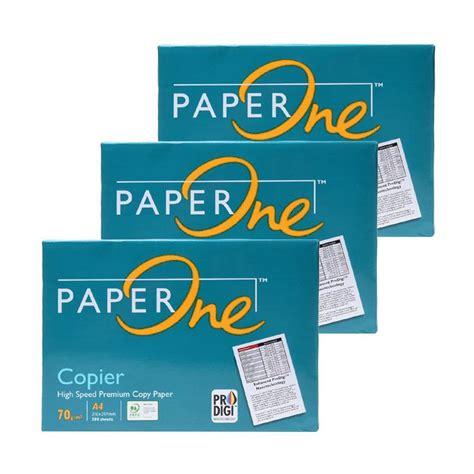 Copy Paper Blue Hvs Paper 70 Gsm A4 1 Ream jual paper one kertas hvs a4 70 gsm 3 harga kualitas terjamin blibli