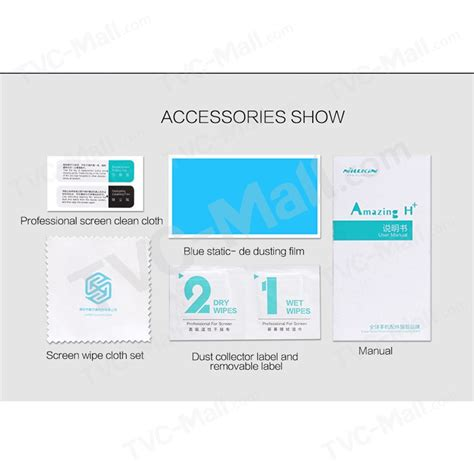 Huawei Honor 5c Nillkin Anti Explosion H Tempered Glass Screen Guard nillkin for huawei honor 5c amazing h pro tempered glass