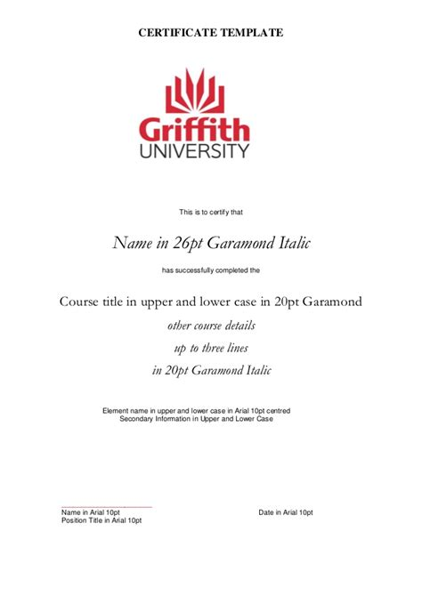 Official Letter Griffith Griffith Sciences Pathway Programs Overview