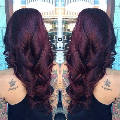 black cherry red hair dyes beautiful cherry brown hair color 1 dark cherry red brown