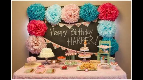 decoration ideas for birthday at home best ideas baby boy birthday decoration