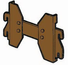 Bed Rail Hooks Hook Rail That Connect Headboard And Footboard Missing Or