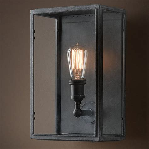 loft light box wall sconce loft light box wall sconce 9816 browse project lighting