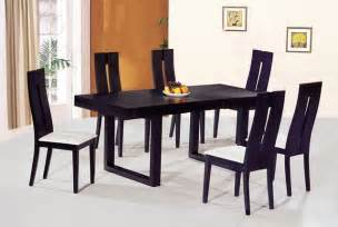 Dining Table Chairs Contemporary Luxury Wooden Dinner Table And Chairs