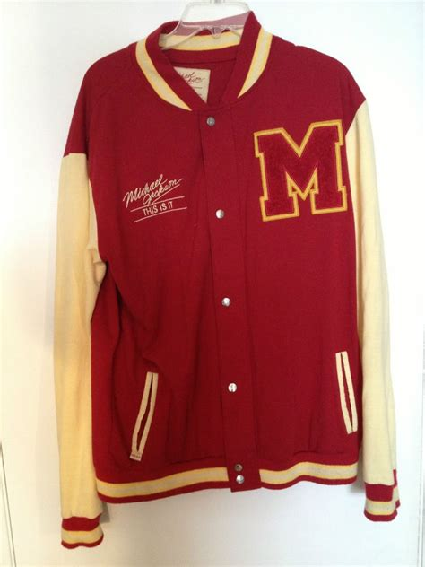 Cp Sweater Care Blue Limited Edition limited edition michael jackson this is it thriller letterman sweater large ebay