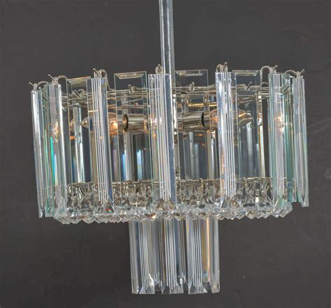 Modern Acrylic Chandelier Mid Century Modern Lucite Chandelier For Sale At 1stdibs
