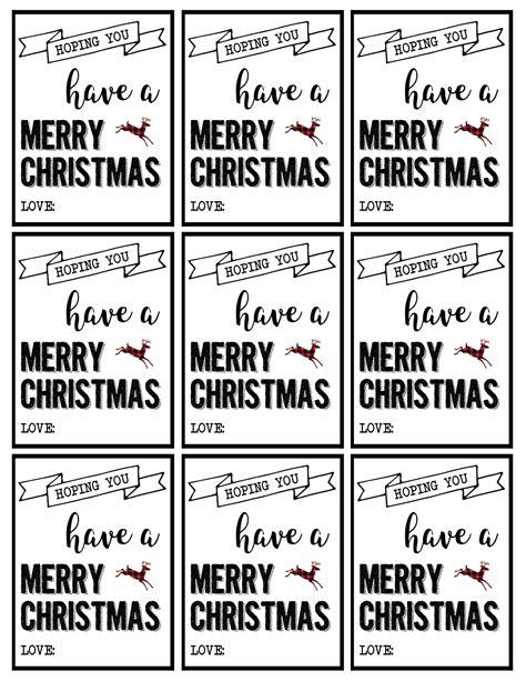 christmas labels printable  christmas gift tags printable paper trail design