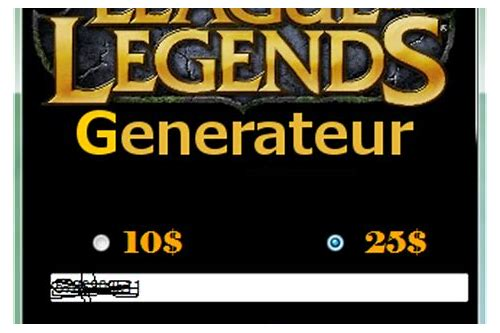 coupons league of legend gratuit