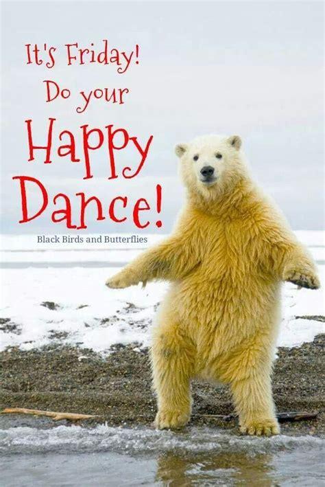friday days   week pinterest bear animals  dance