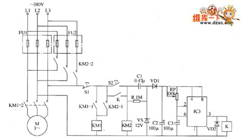 the motor dual insurance starter circuit diagram basic