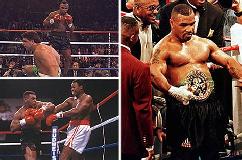 mike tyson best ko mike tyson heavyweight boxing icon s best knockouts