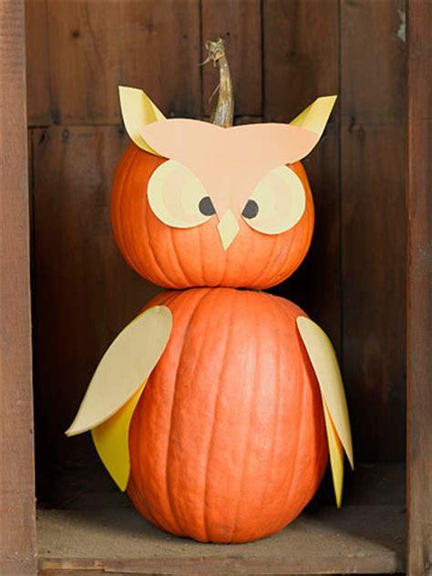 carve owl pumpkin  halloween