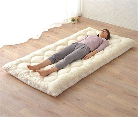 japanese futon bed emoor washable futon mattress shikibuton azfs
