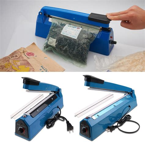 Original Fs 50 Mesin Jahit Computerised Portable impulse heat sealer 8 quot 200mm 12 quot 300mm plastic ploy bag