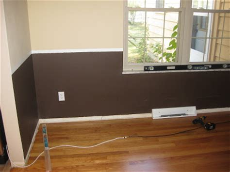 Proper Chair Rail Height by New And Improving Chair Rail And Floor Trim In The