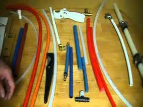 different types of pex pipe the cost the tools required