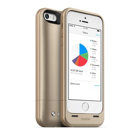 Memory Iphone 5s Mophie Spacepack 32gb Memory External Battery For