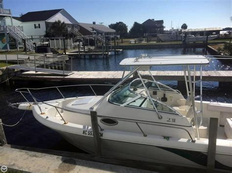 proline boats for sale in nc 1996 used pro line 231 walkaround fishing boat for sale