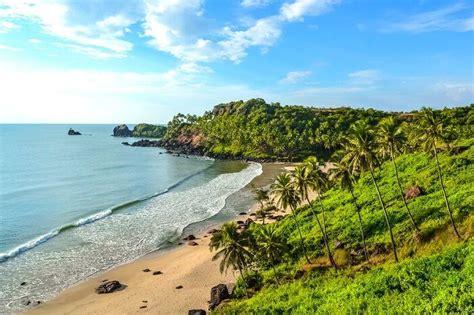 beaches  south goa   sunny vacation