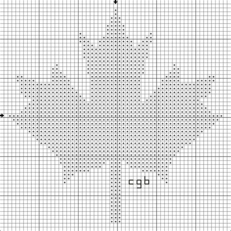 leaf pattern knitting charts 47 best maple leaf chart images on pinterest knitting