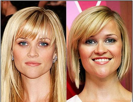 hairstyles for fine hair with heart shaped face medium haircuts for heart shaped faces