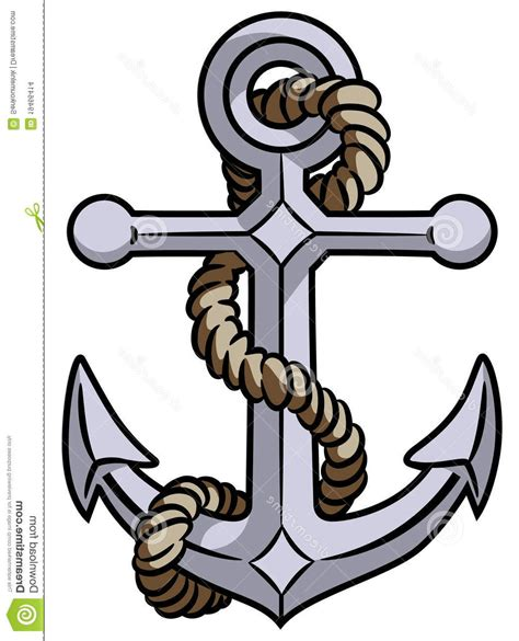 red anchor clipart clipart suggest